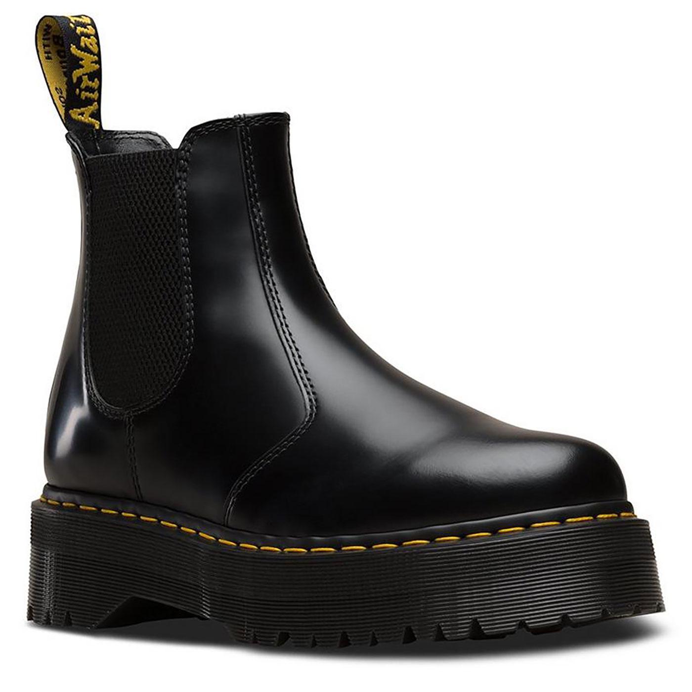 2976 Quad DR MARTENS Womens Platform Chelsea Boots