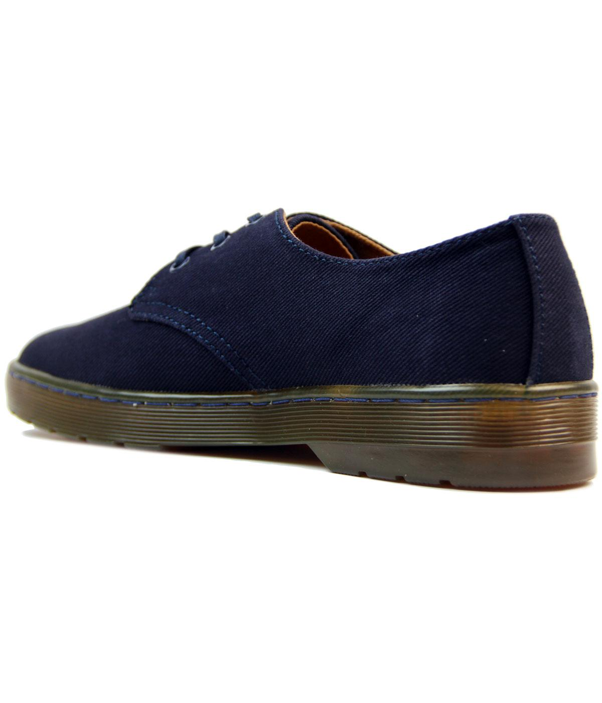 arriving authentic affordable price Cruise Delray DR MARTENS Retro Twill Canvas Shoes
