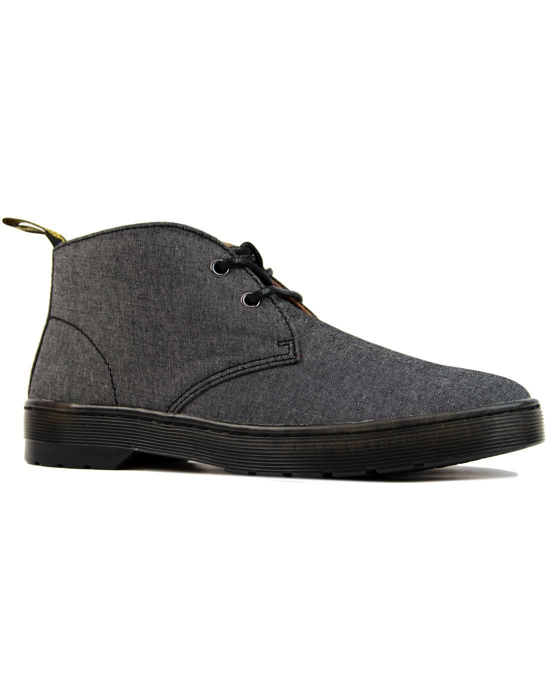 Mayport Chambray Twill DR MARTENS Desert Boots (B)