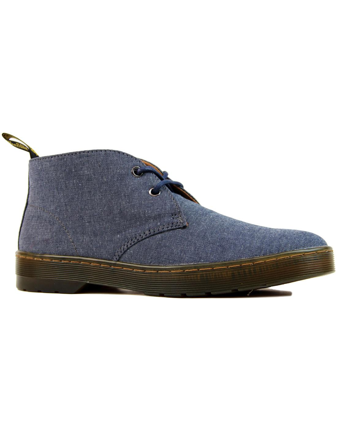 Mayport Chambray Twill DR MARTENS Desert Boots (N)