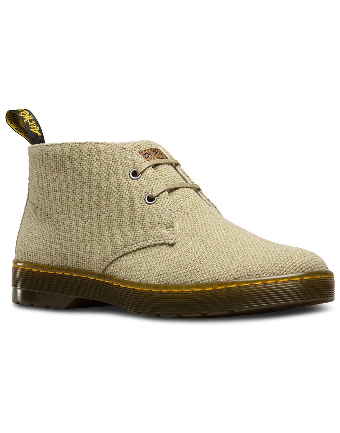 Mayport DR MARTENS Military Canvas Desert Boots OG
