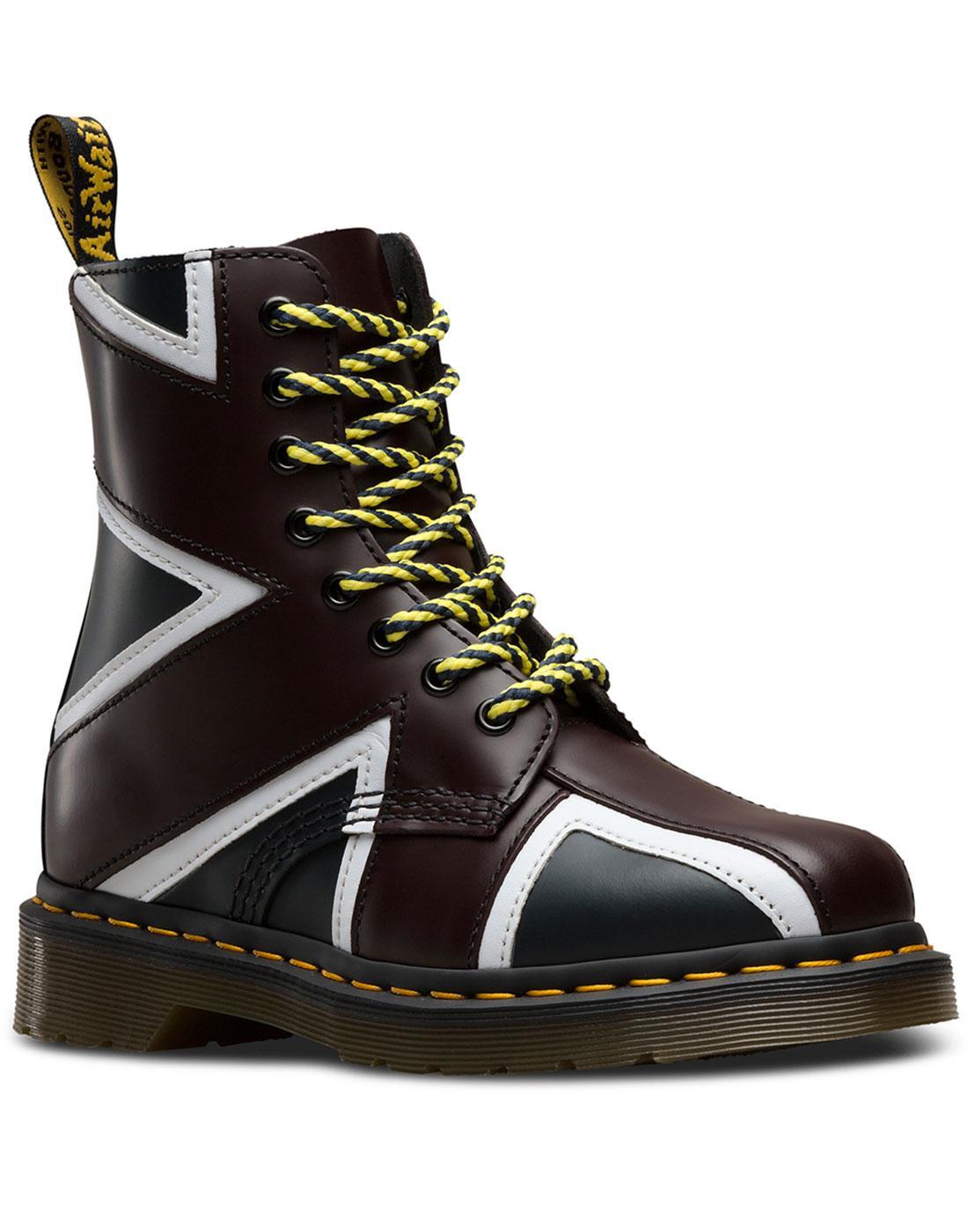 Pascal Brit DR MARTENS Mod Punk Union Jack Boots
