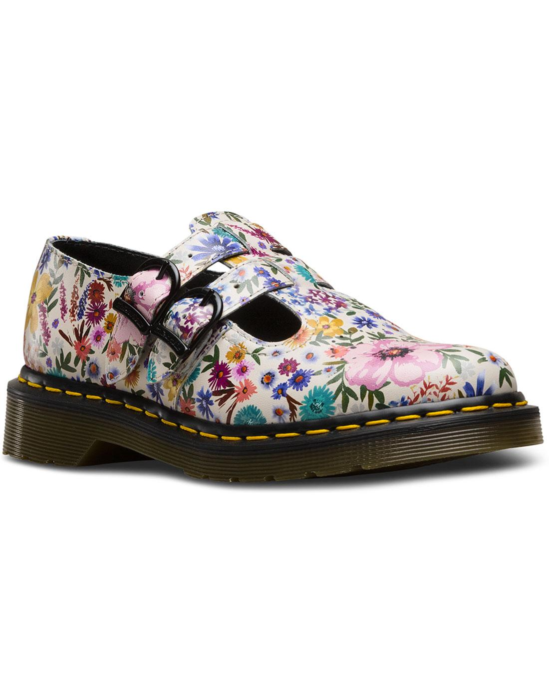 Wanderlust 8065 DR MARTENS Floral Mary Jane Shoes