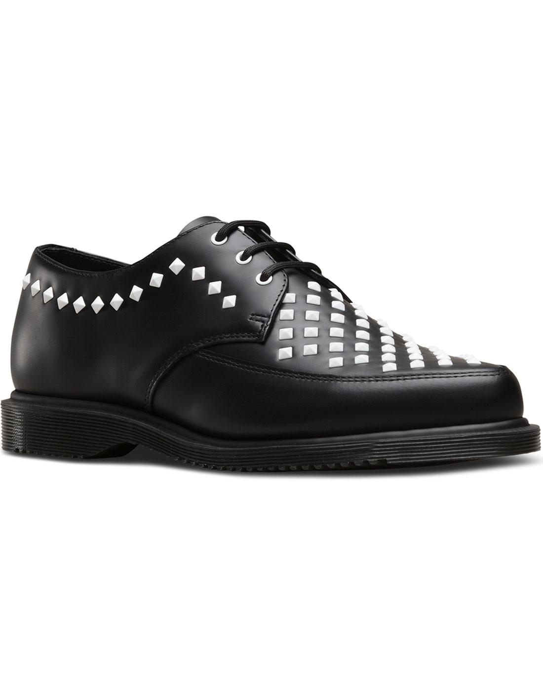 Willis DR MARTENS Retro 50s Smooth Stud Creeper B