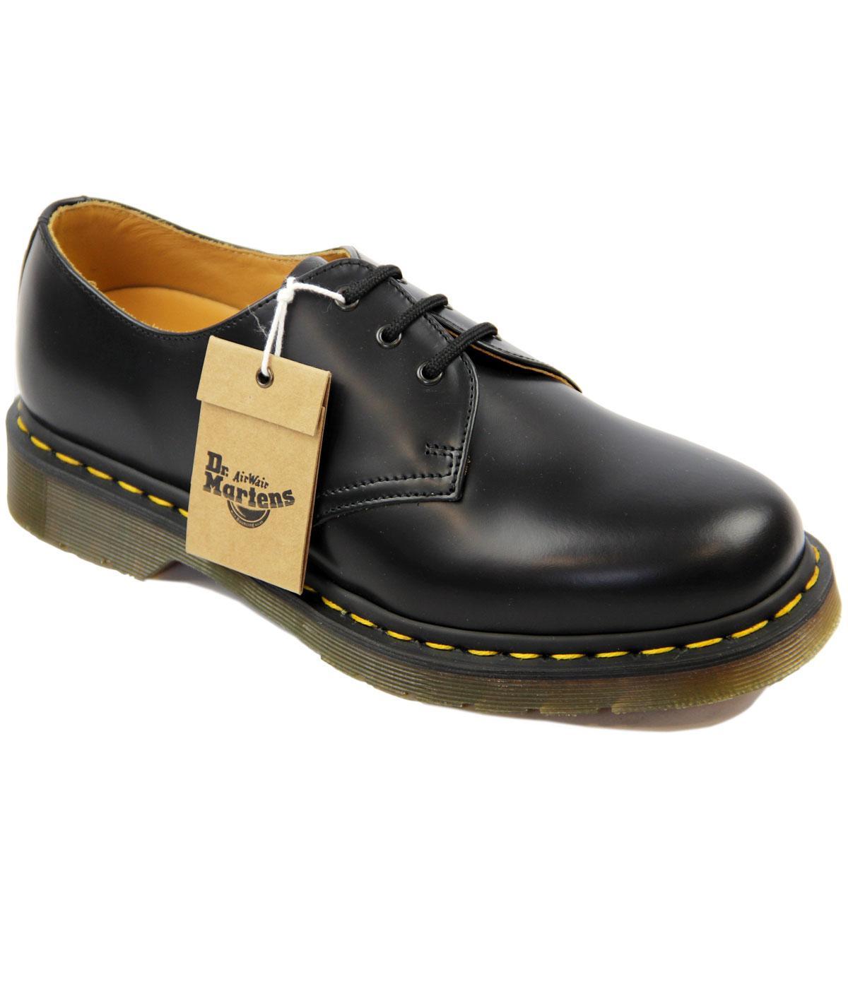 Dr Martens 1461 Retro 60 s Black Leather Lace up Retro Shoes 63bbb8cd6813