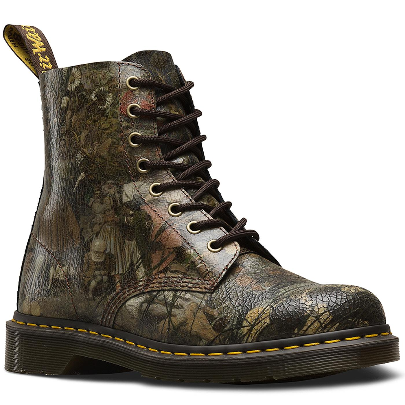 1460 Pascal DR MARTENS Dadd Cristal Suede Boots