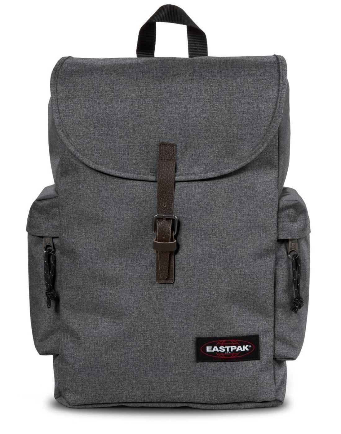 Austin EASTPAK Retro Laptop Backpack - Black Denim