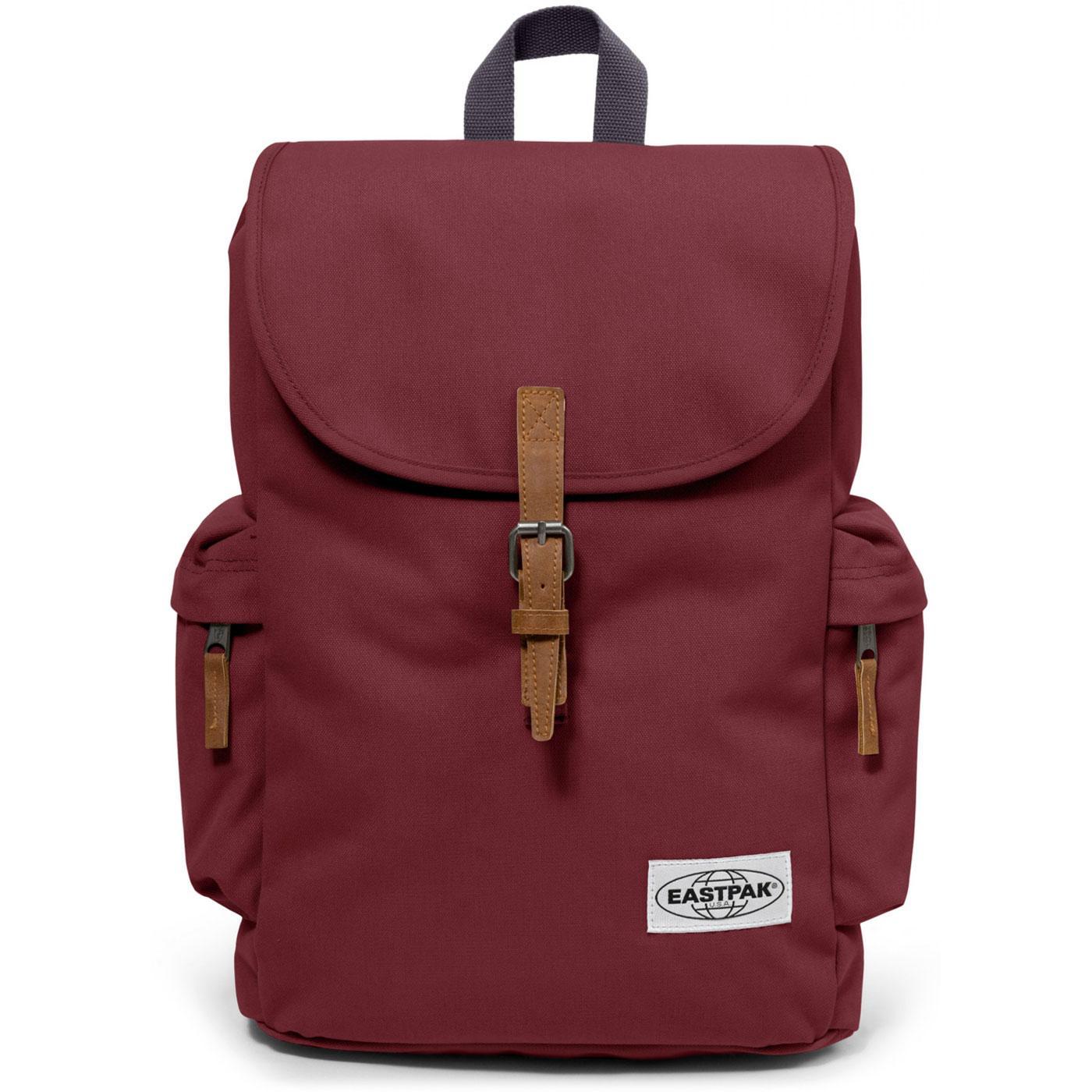 Austin EASTPAK Retro Laptop Backpack OPGRADE GRAPE