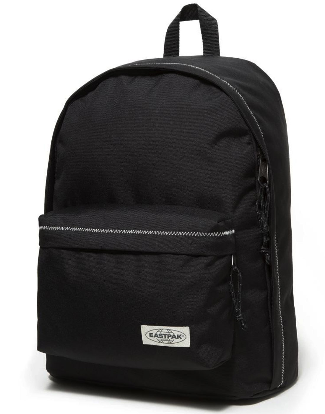 a36ef33eb59 EASTPAK Out Of Office Retro Mod Black Stitched Laptop Backpack