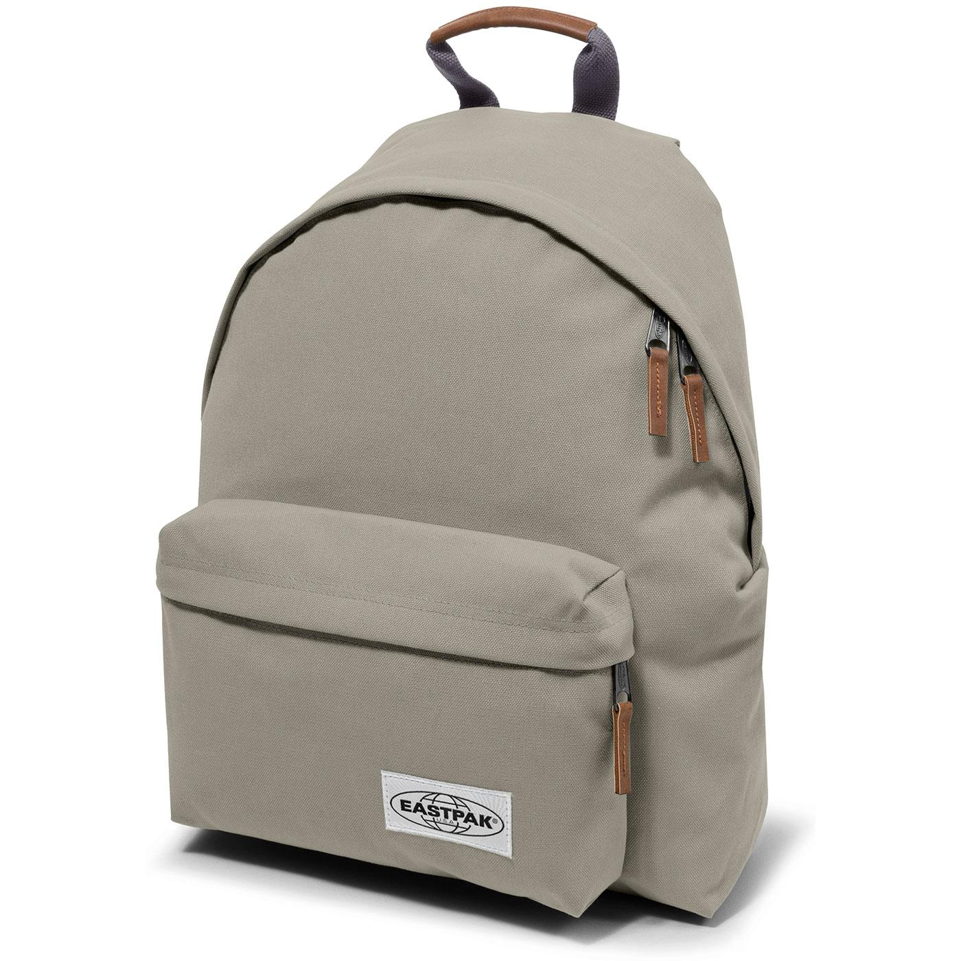 1cc7df9419d EASTPAK Padded Pak'r Laptop Backpack in Opgrade Silver
