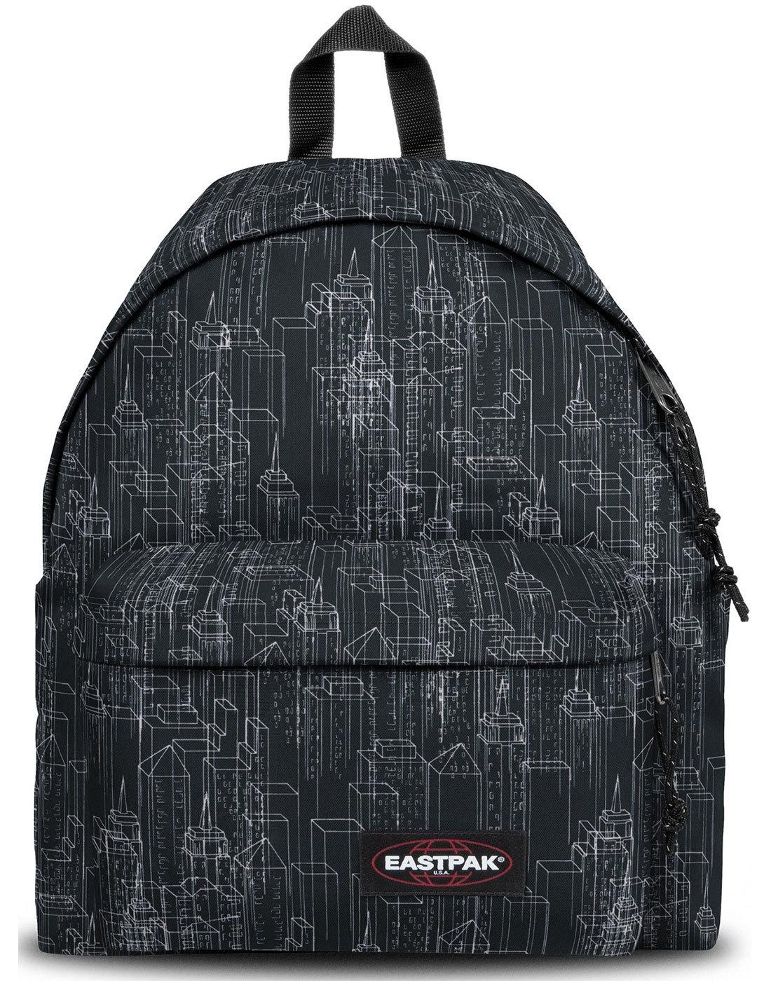 Padded Pak'r EASTPAK 80s Block Cityscape Backpack