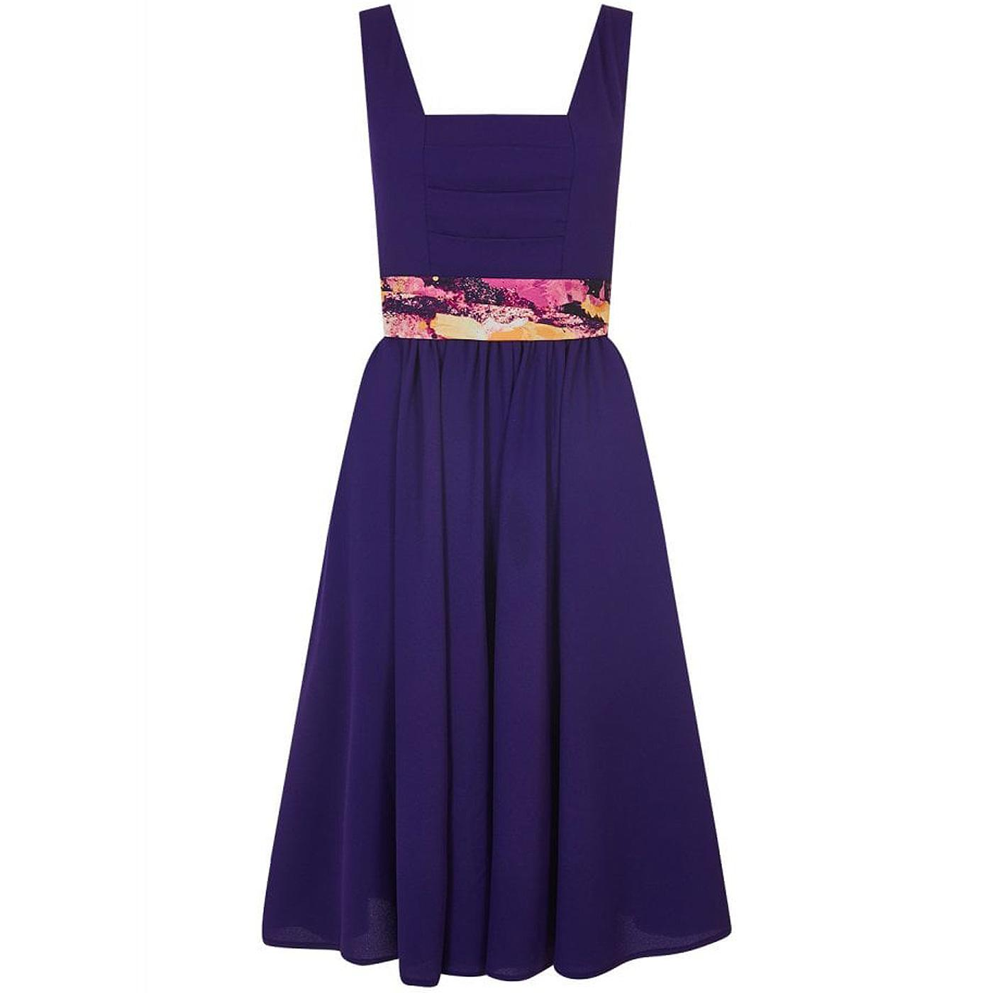 Eden BRIGHT & BEAUTIFUL Retro 70s Swing Dress