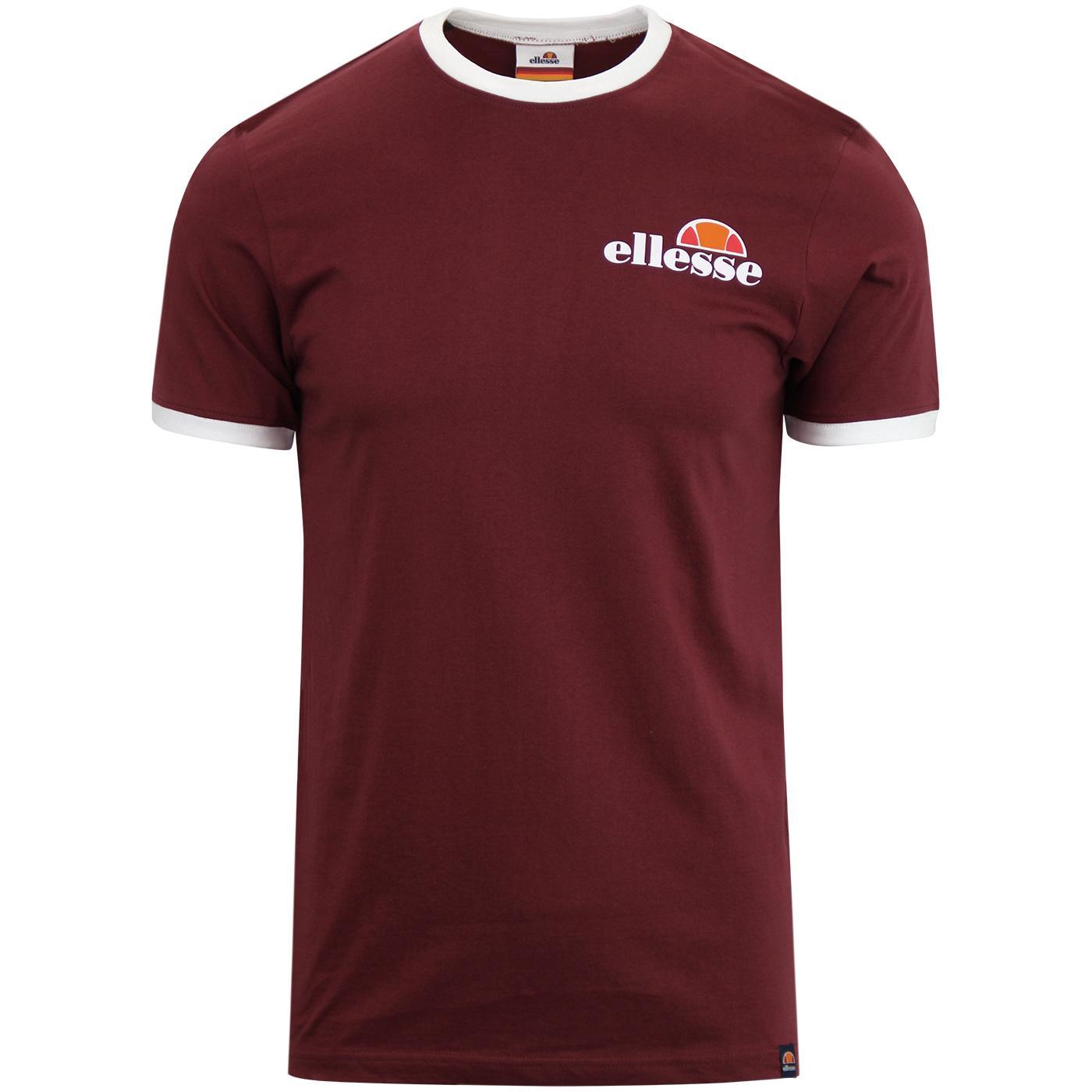 Agrigento ELLESSE Men's Retro Ringer T-shirt (DR)