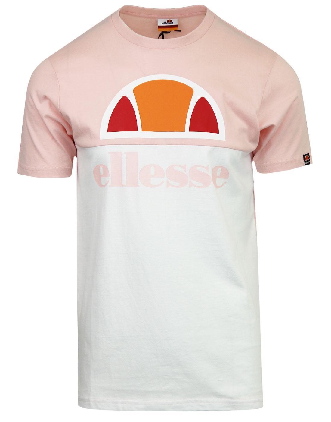 Arbatax ELLESSE Mens Retro 80s Panel Logo Tee (SC)