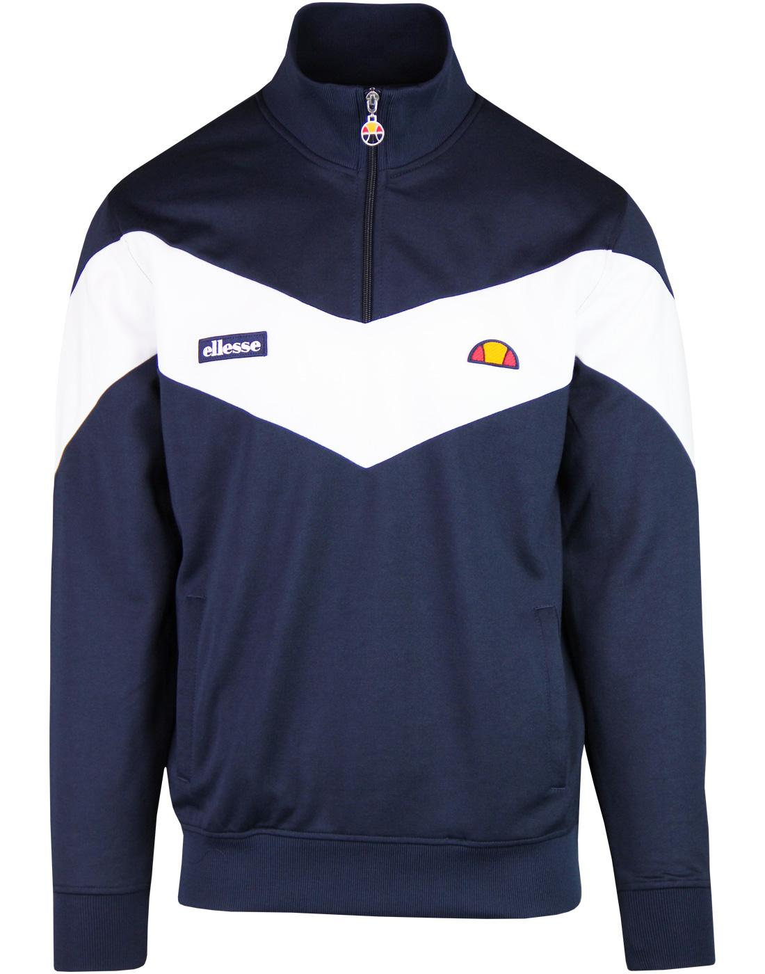 Arrow ELLESSE Retro Quarter Zip Chevron Track Top