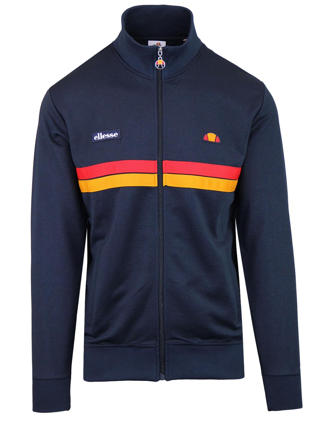 Avidor ELLESSE Retro 80s Funnel Neck Track Top DB