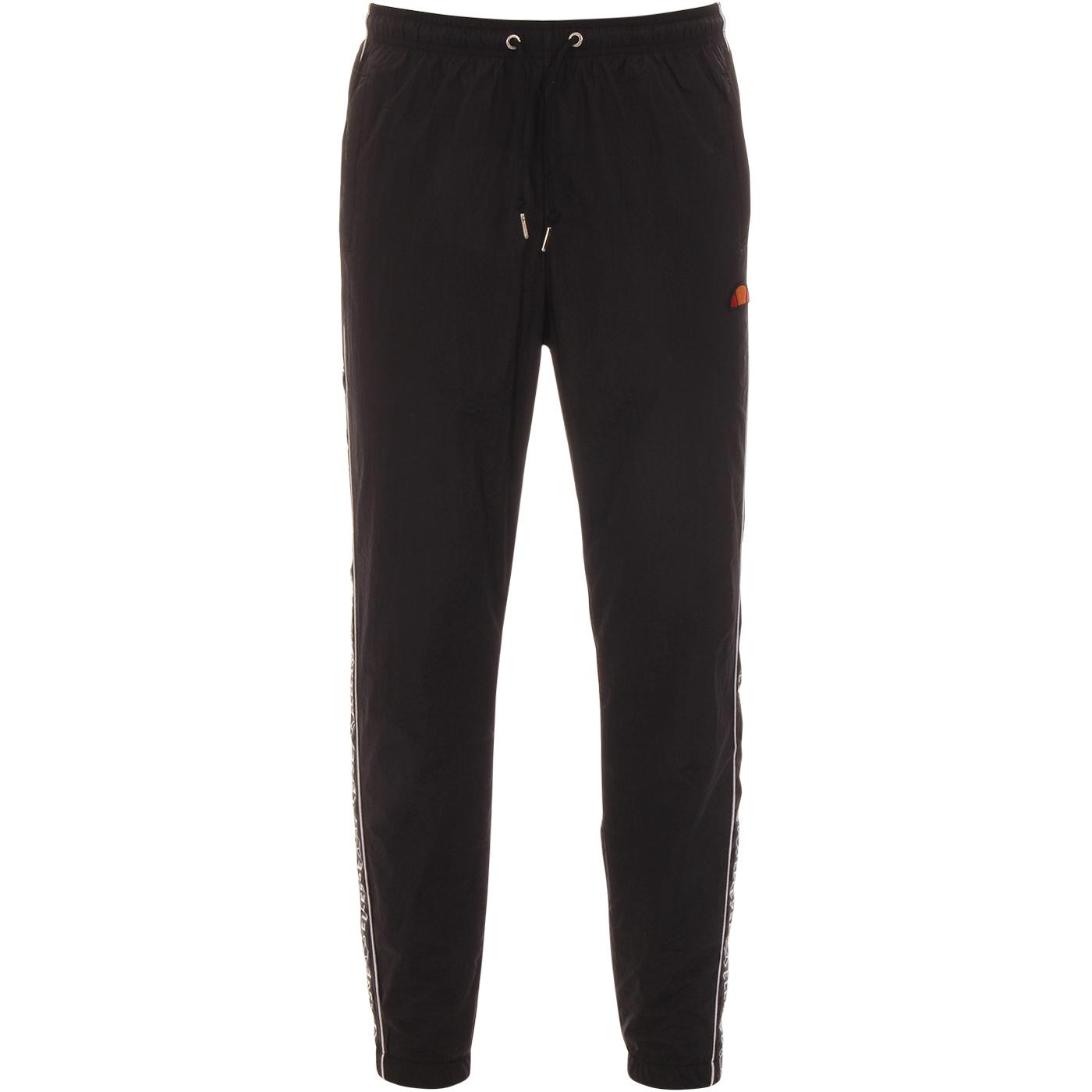Bandino ELLESSE Men's Taped Leg Track Pants BLACK