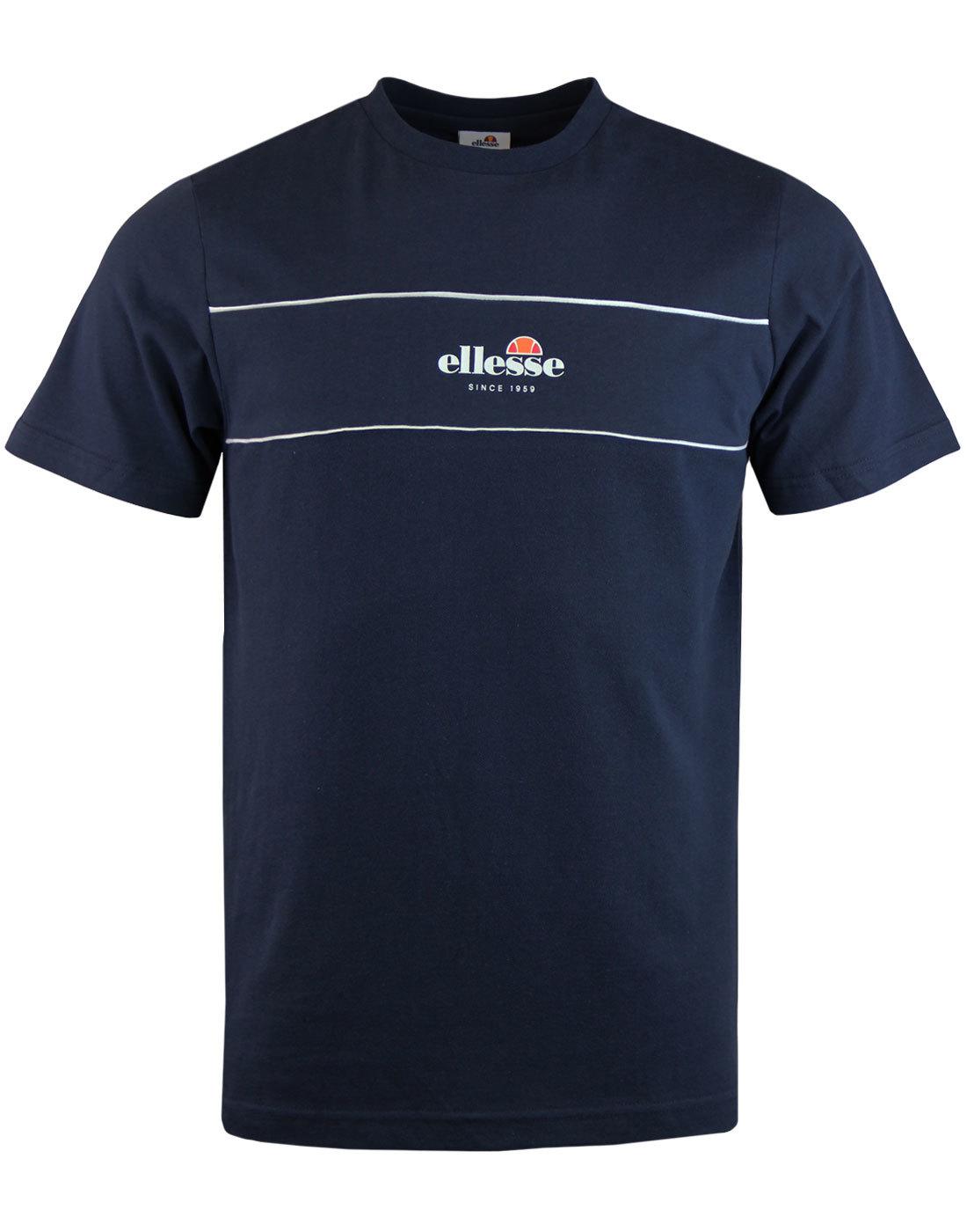 Cannavaro 70s Retro ELLESSE T-Shirt Dress Blue