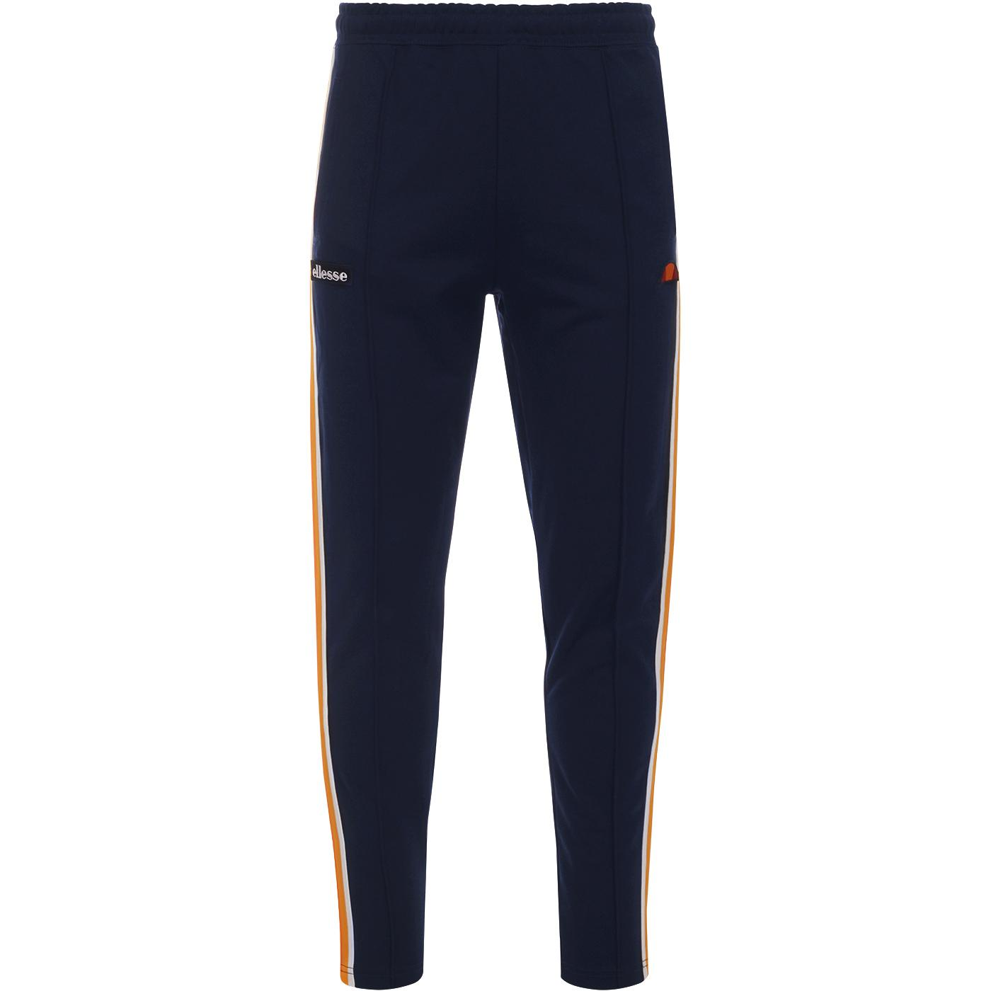 Civetta ELLESSE Retro Sports 80s Track Pants NAVY