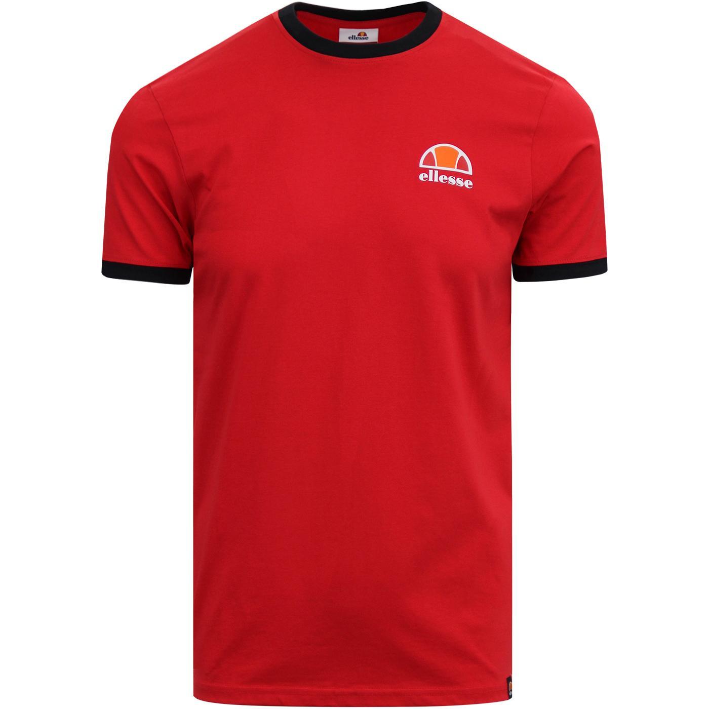 Cubist ELLESSE Retro Classic Logo Ringer T-Shirt R