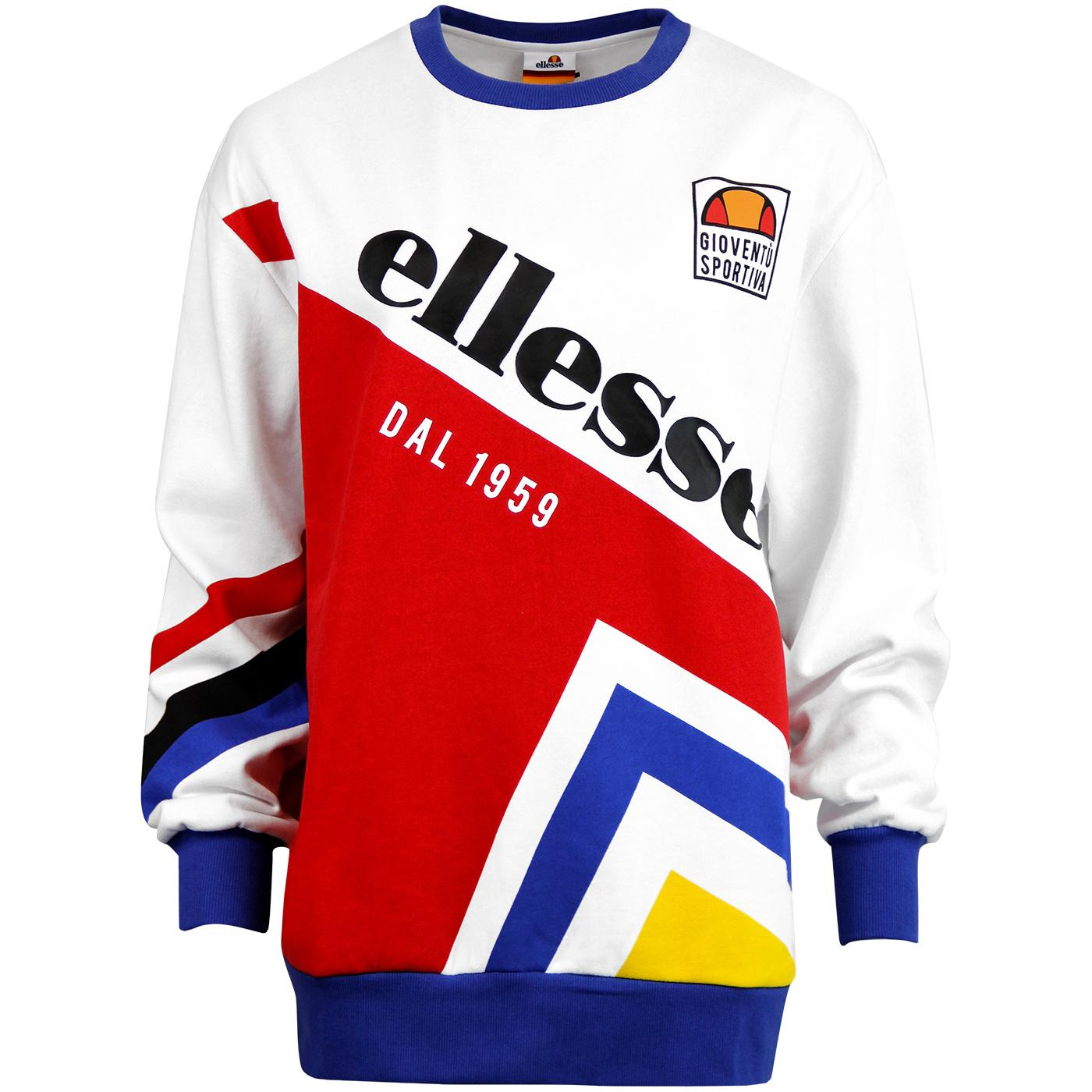 Dolomito ELLESSE Womens Retro 90's Oversized Sweat