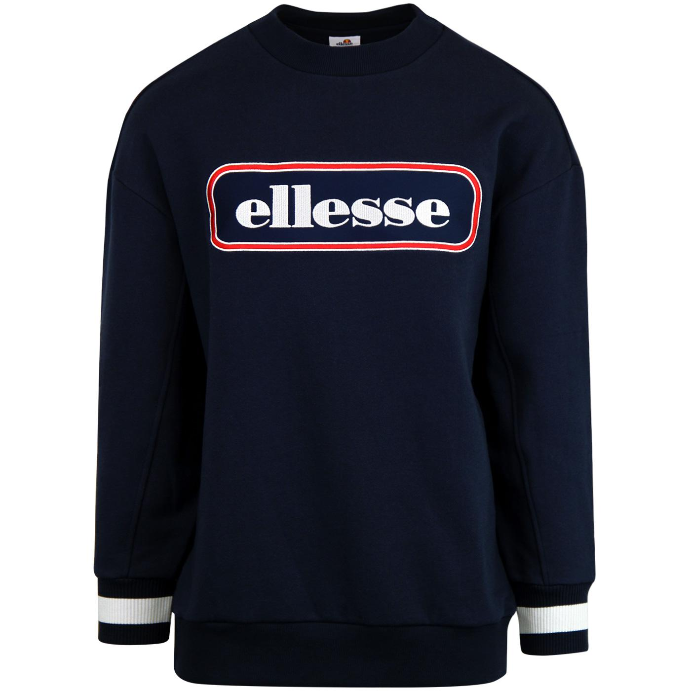 Durono ELLESSE Men's Retro Oversized Sweatshirt N