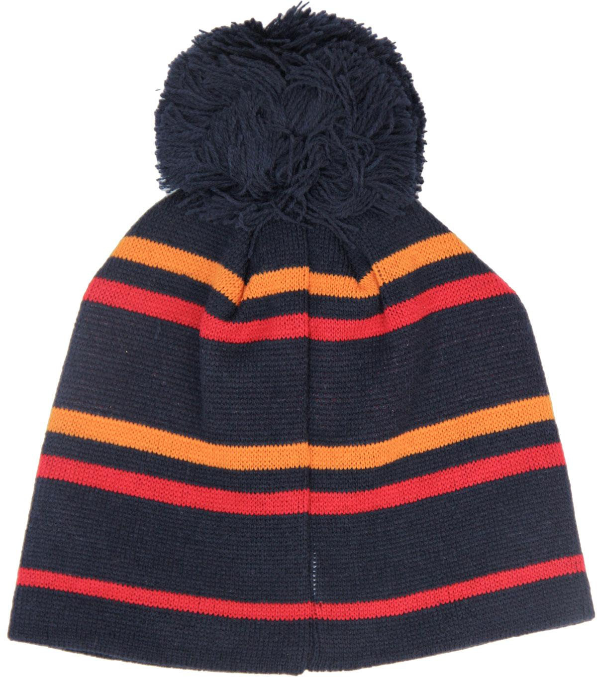 119315ea Ettore ELLESSE Retro 80s Bobble Hat In Navy