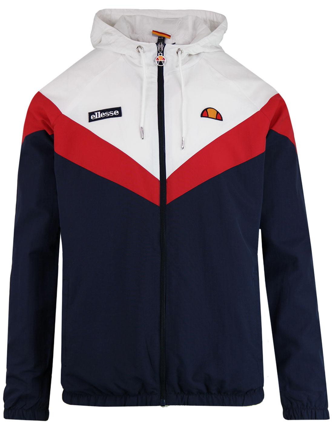 Faenza ELLESSE Retro Chevron Hooded Track Jacket