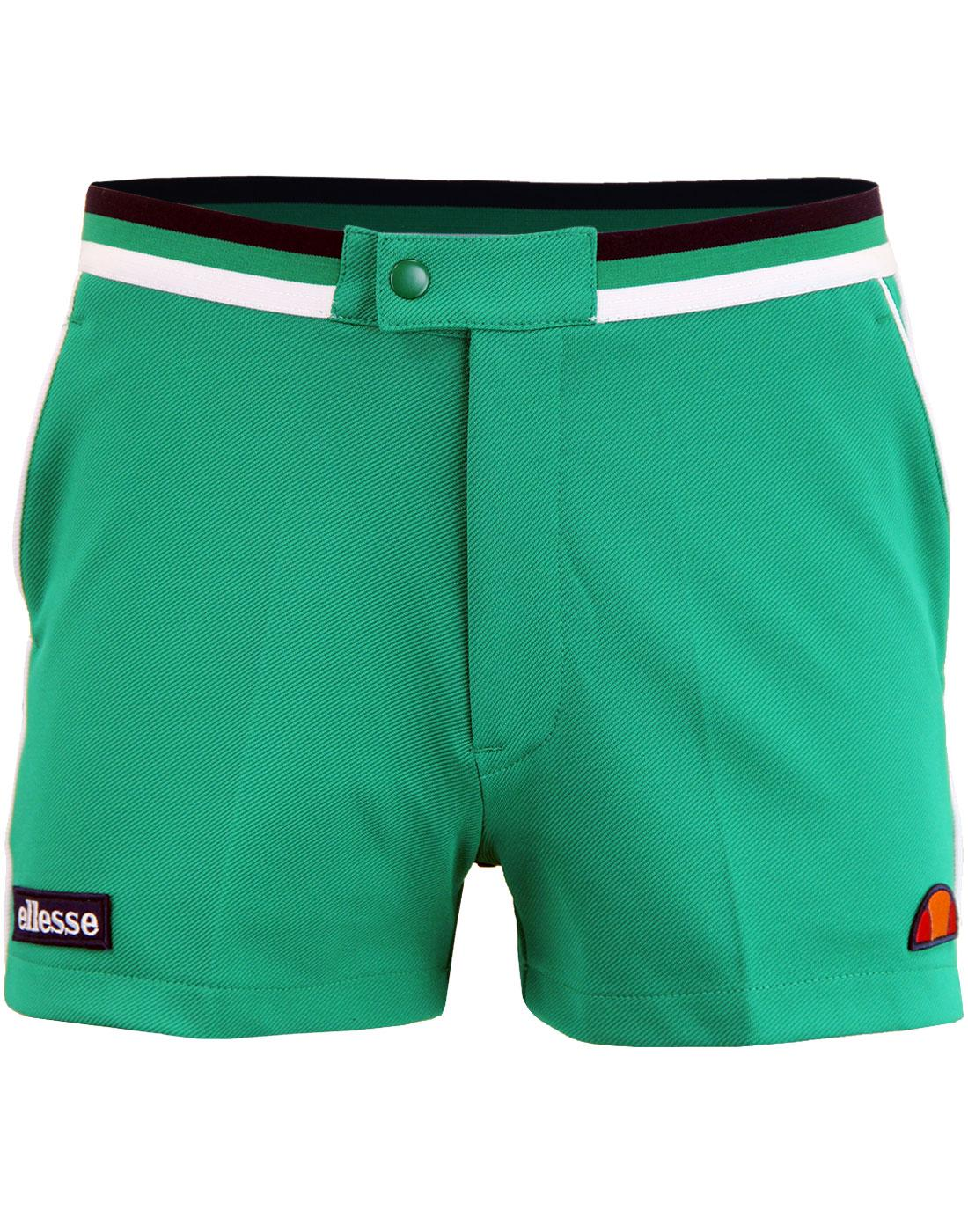 Knapp ELLESSE Men's Retro 70s Tennis Shorts (BG)