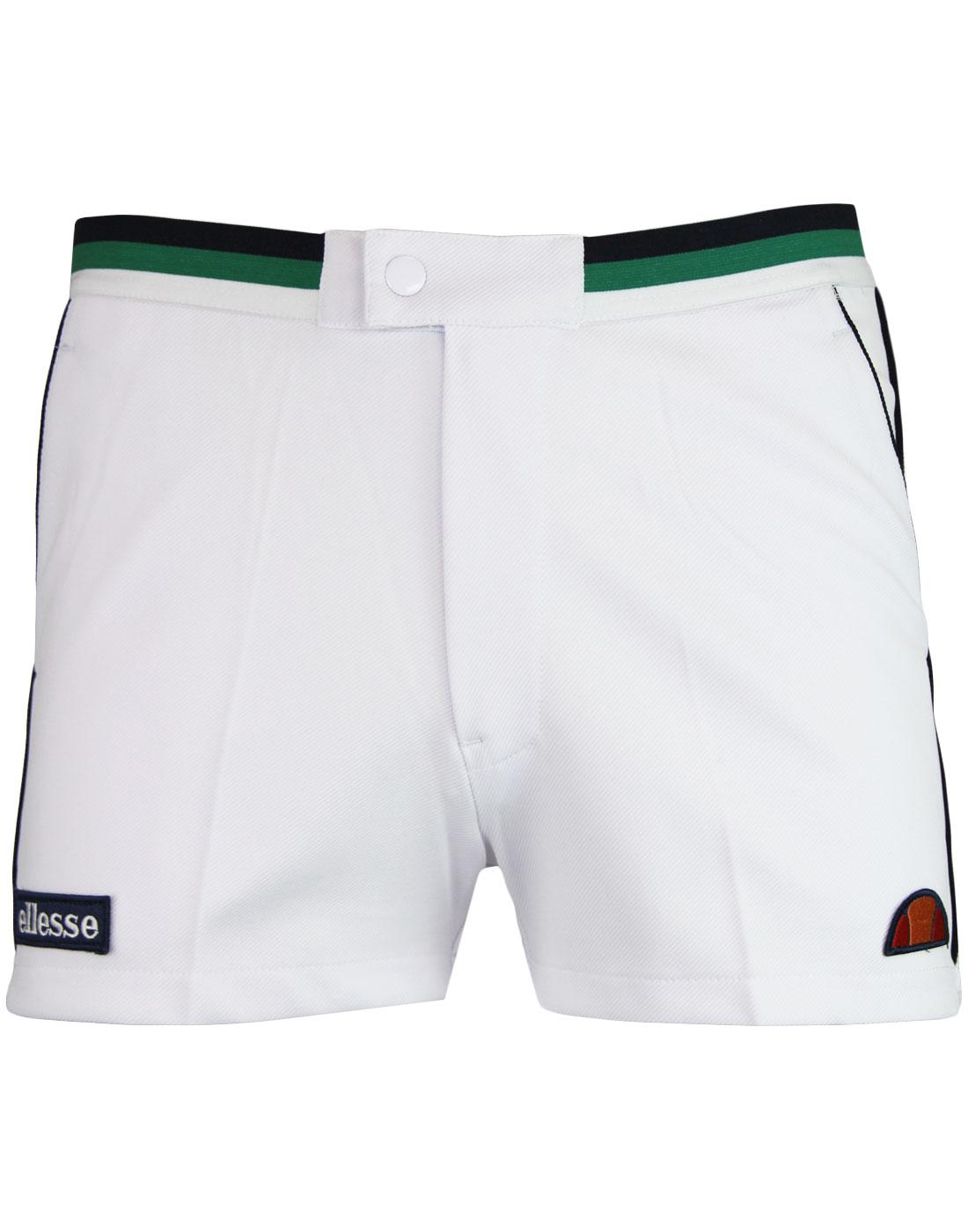 Knapp ELLESSE Men's Retro 70s Tennis Shorts (OW)