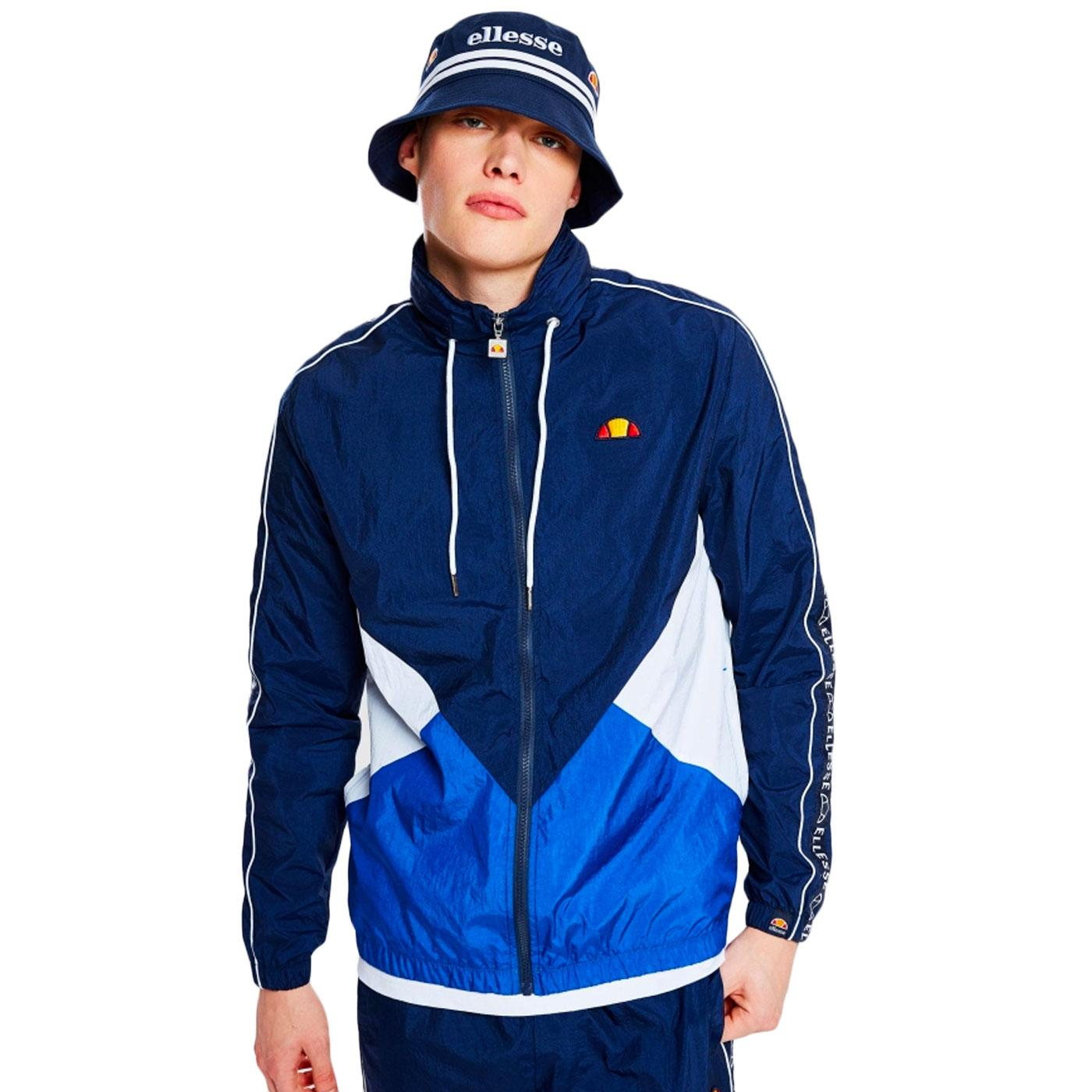 Lapaccio ELLESSE Retro 1980s Funnel Neck Jacket N