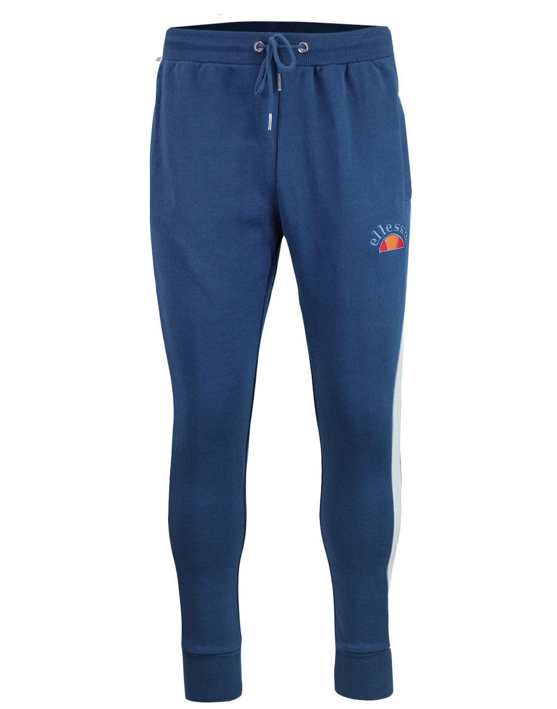 Livio ELLESSE Men's Retro 80s Jersey Jogger Pants