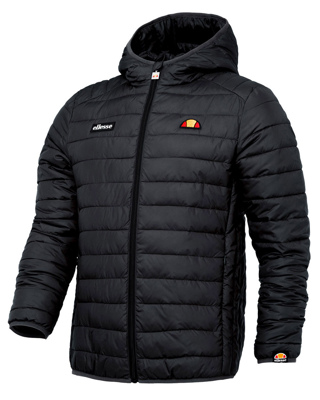 Lombardy ELLESSE Retro 70s Mens Quilted Ski Jacket