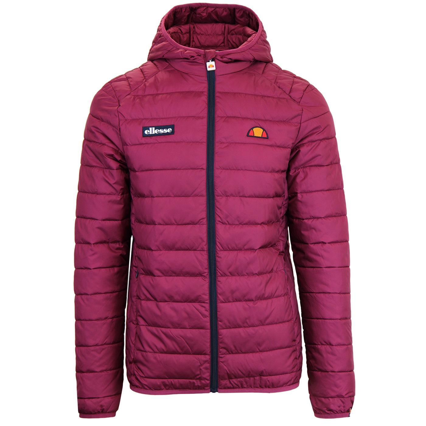 Lombardy ELLESSE Retro Mens Quilted Ski Jacket (P)