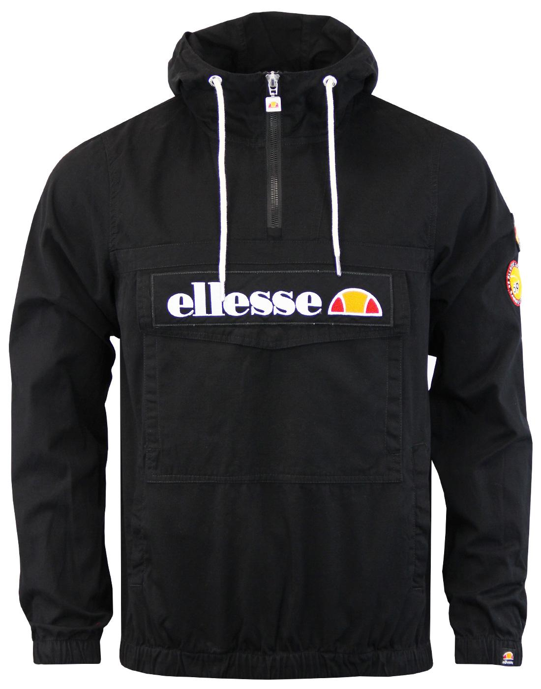 Monte ELLESSE Retro 80s Overhead Badge Jacket (A)