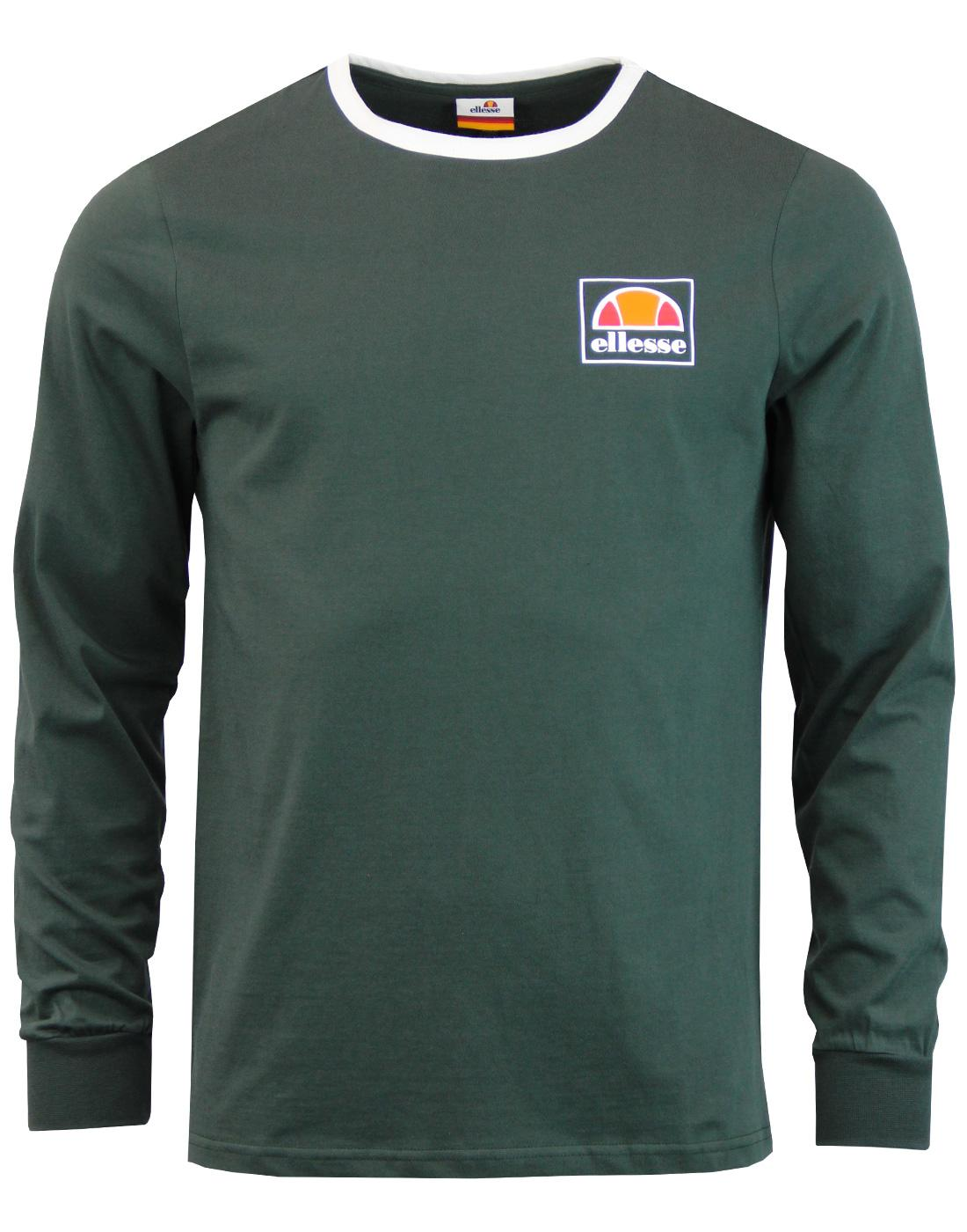 Ortler ELLESSE Retro Long Sleeve Ringer Tee (DS)