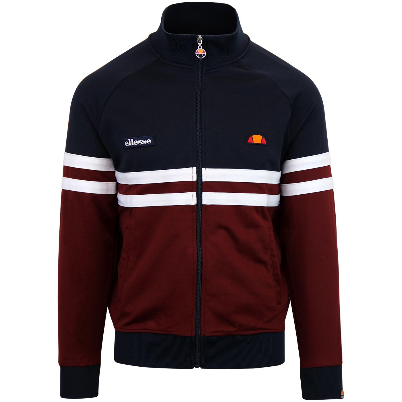 Rimini ELLESSE Retro 80s Casuals Track Top (DB)