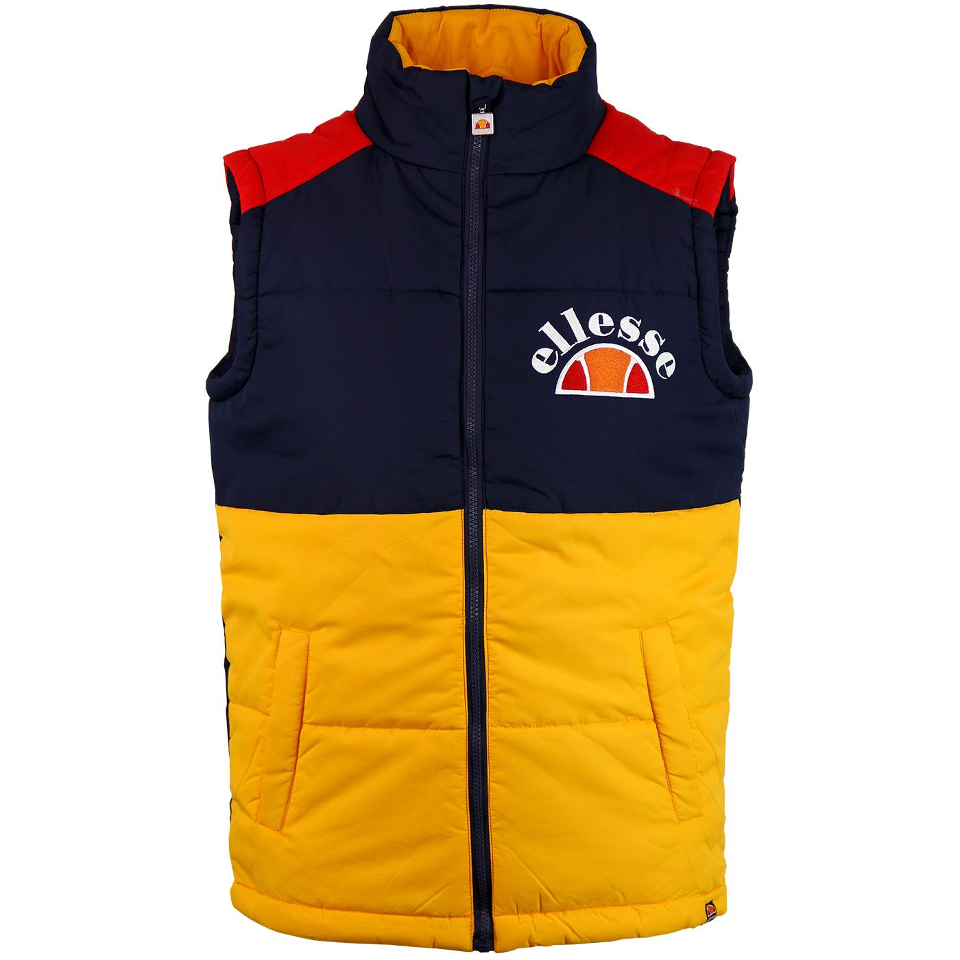 Sorbo ELLESSE Mens 90's Retro Panel Ripstop Gilet
