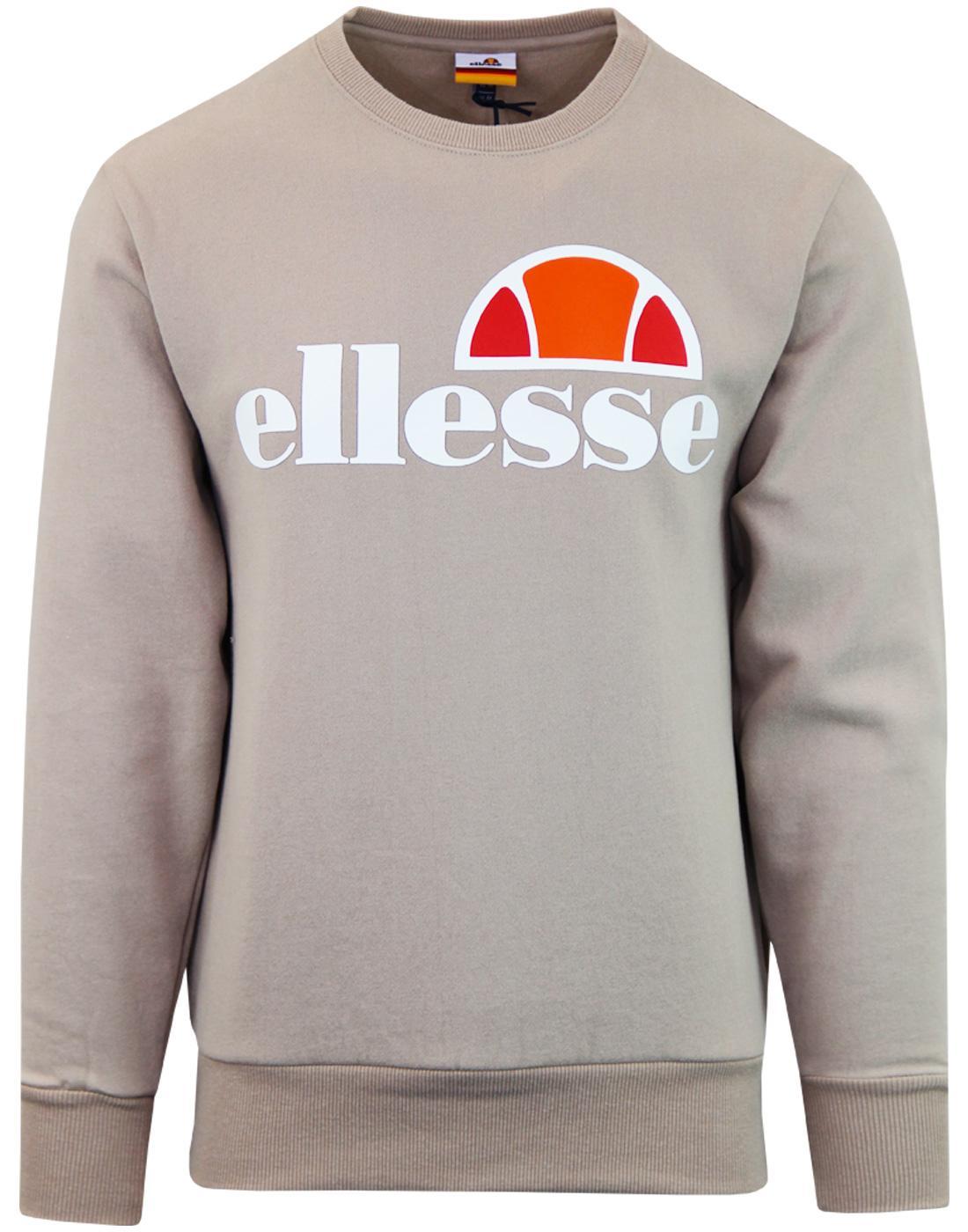 Succiso ELLESSE Retro 70s Crew Neck Sweatshirt (A)