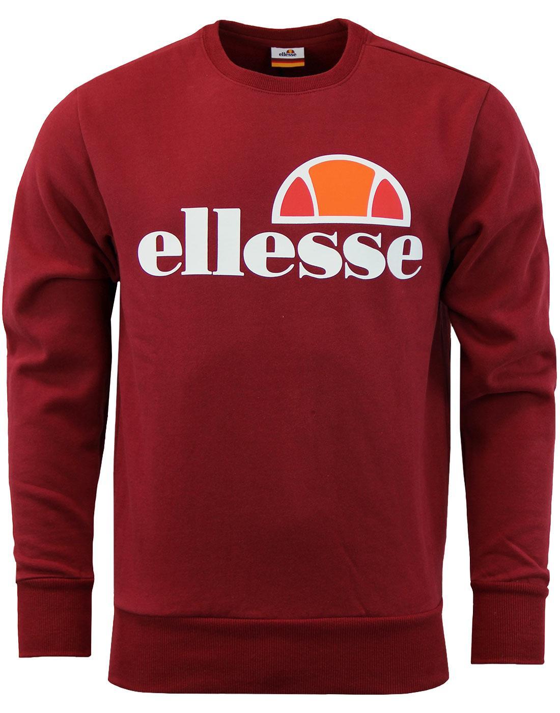 Succiso ELLESSE Retro 70s Crew Neck Sweater (TR)