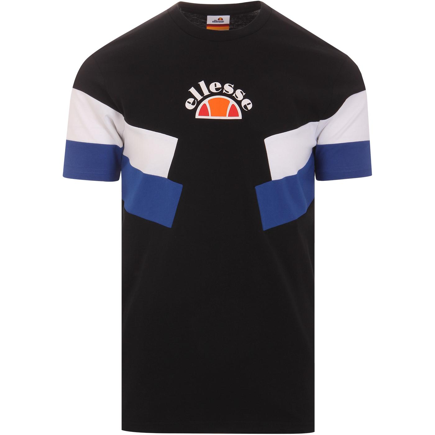 Terria ELLESSE Mens Retro Eighties Chevron Tee (B)