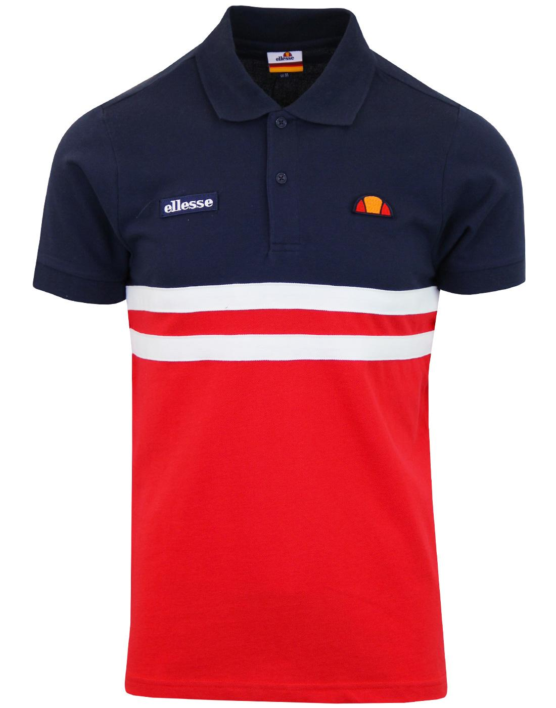 Timini ELLESSE Retro 80s Casuals Pique Polo Shirt