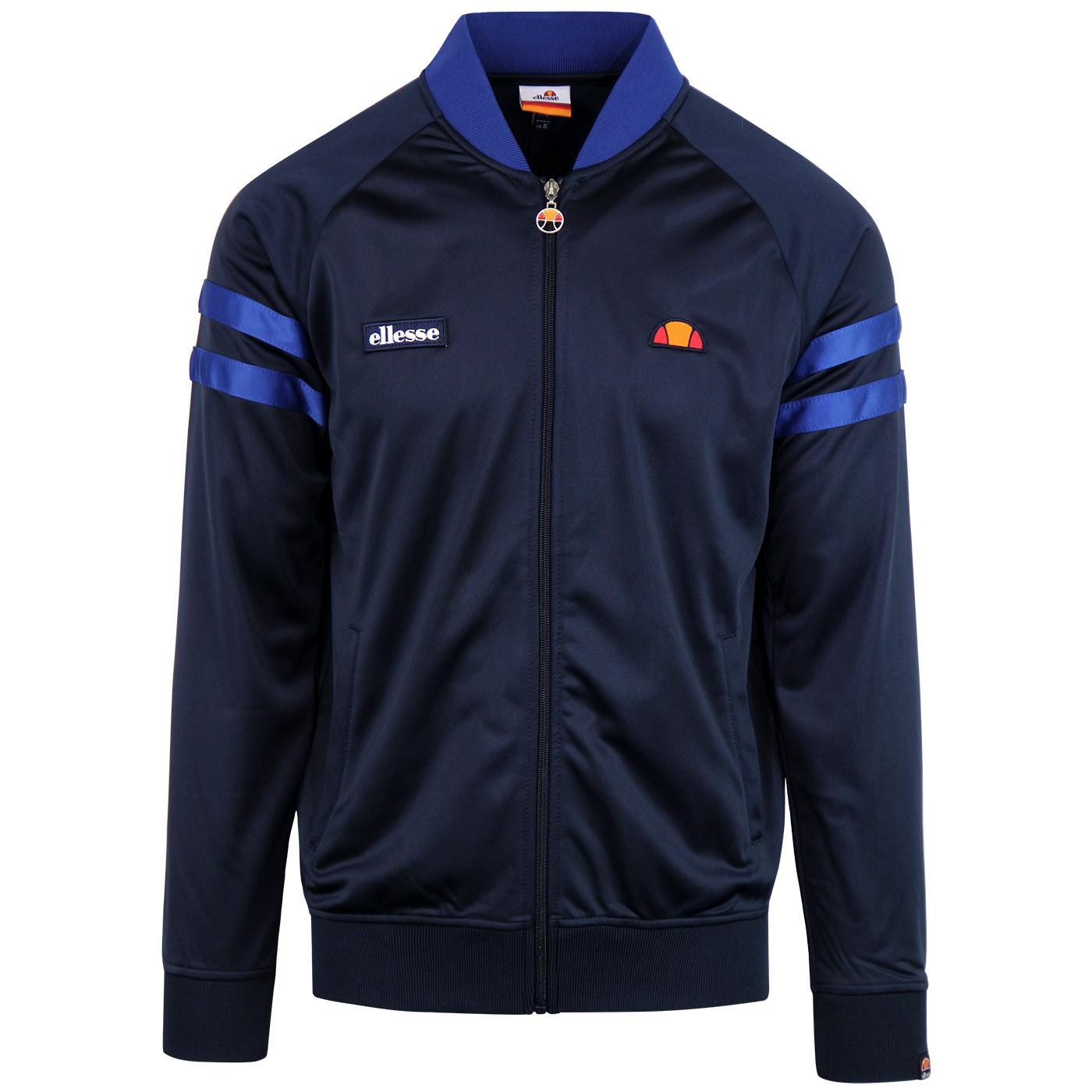 Romeo ELLESSE Men's Retro 70s Tricot Track Top DB