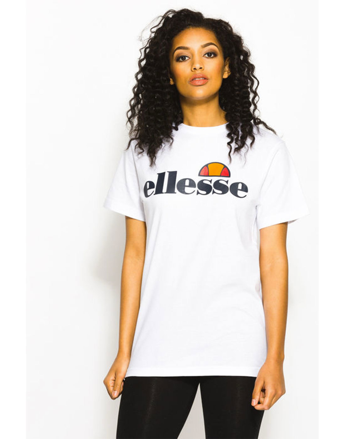 fac206d901 Agata ELLESSE WOMENS Retro 80s Sweat in White