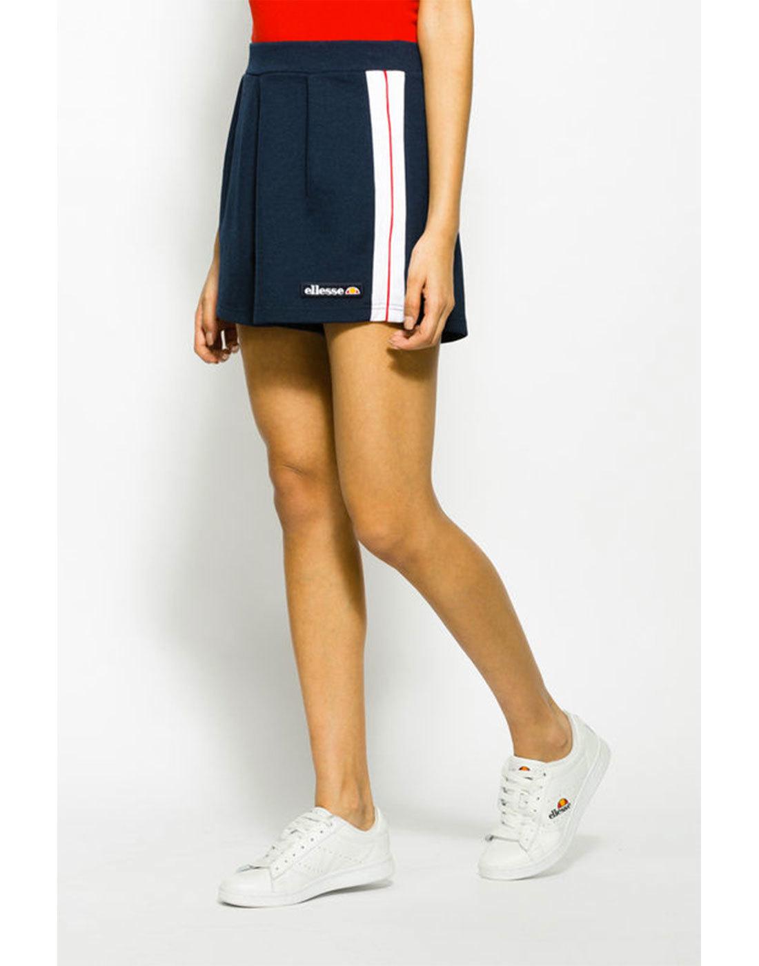 Sassi ELLESSE WOMENS Retro 70s Shorts Dress Blues