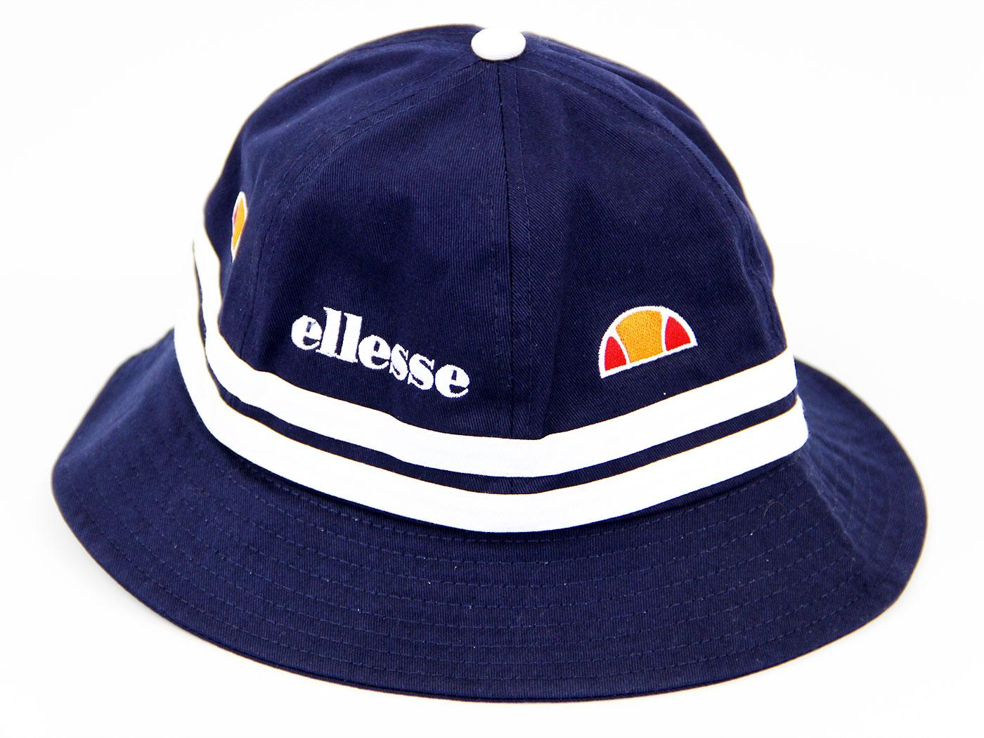 Ellesse Retro Indie Nineties Britop Bucket Hat in Navy 6c6bfef28b2