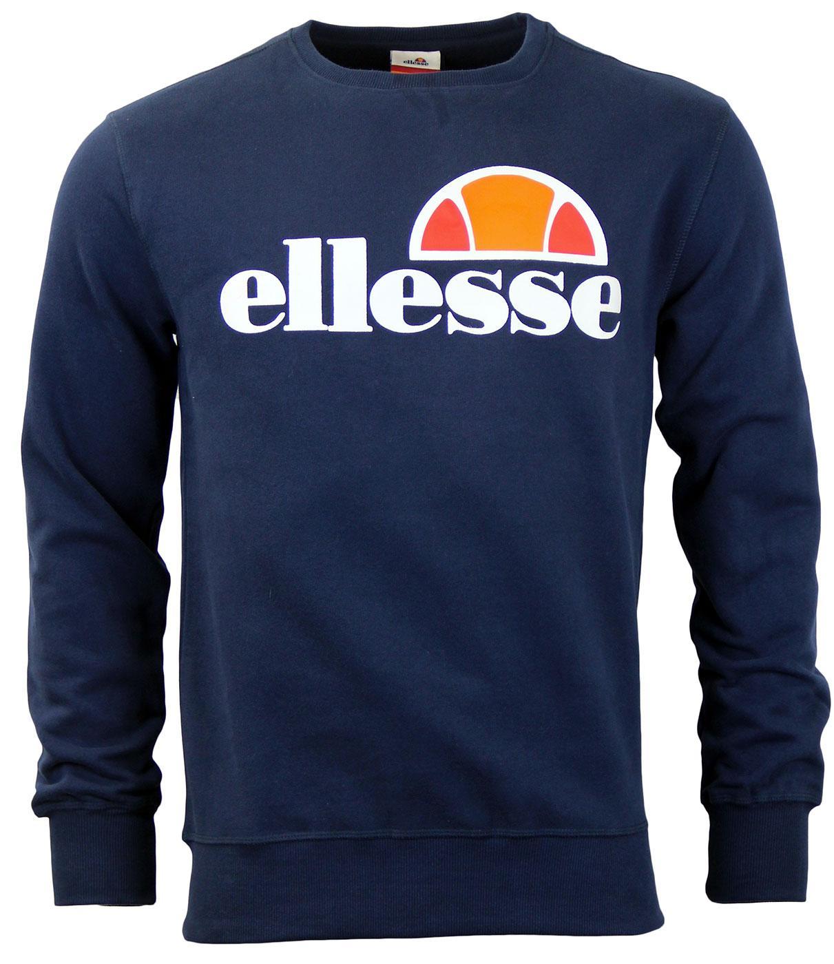 Succiso ELLESSE Retro 70s Crew Neck Sweater (DB)