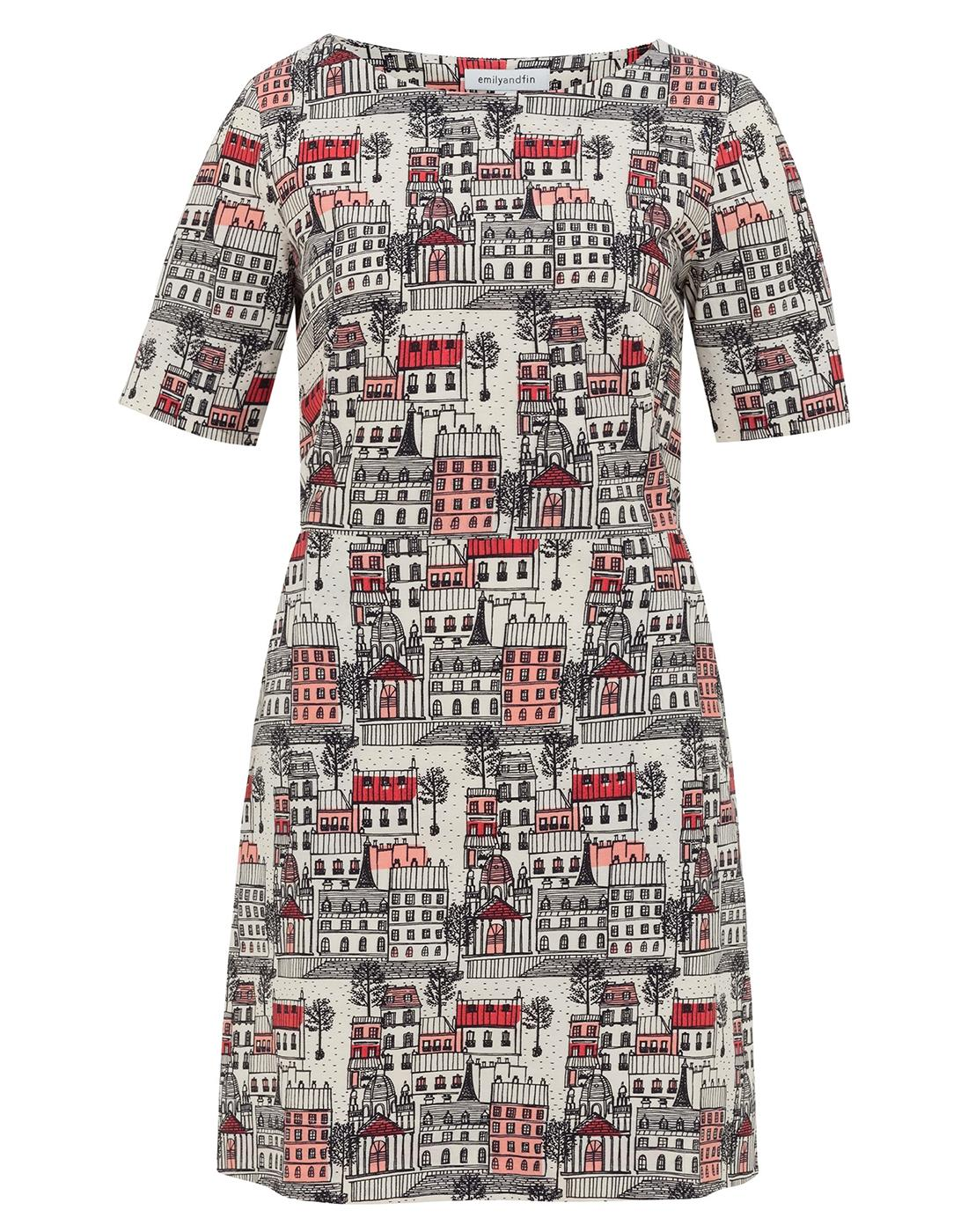 Aggie EMILY AND FIN Vintage Streets of Paris Dress