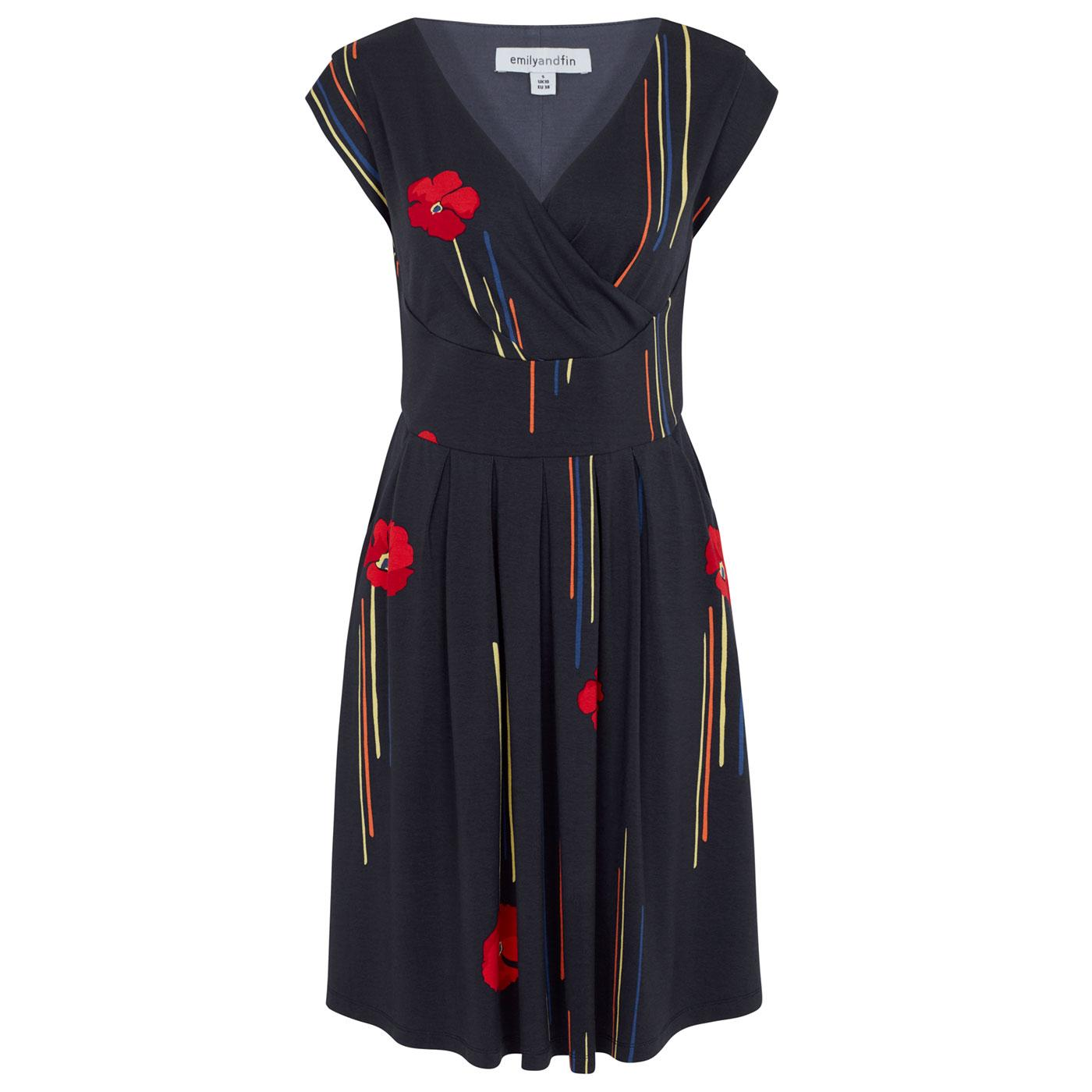 Aria EMILY & FIN Retro 50s California Poppy Dress