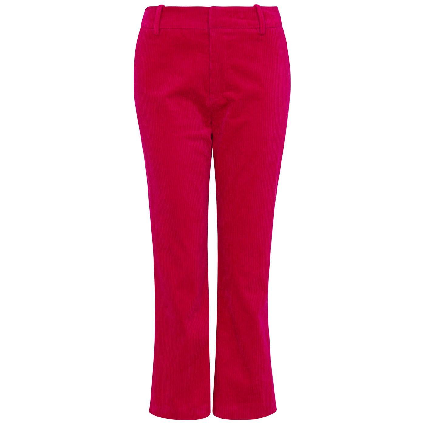 Beth EMILY & FIN Jumbo Cord Trousers Lipstick Pink